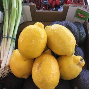 Citrons jaunes