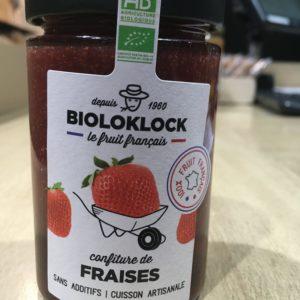 confiture fraises BIO
