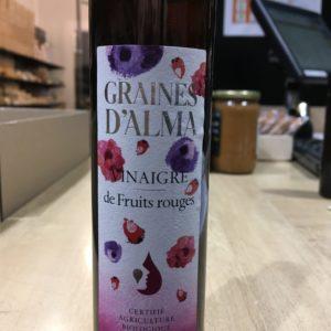 vinaigre fruit rouge BIO