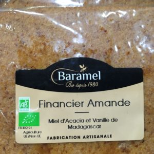 financier aux amandes