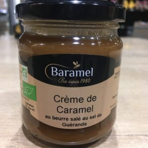 crème caramel bio
