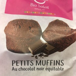PETITS MUFFINS chocolat