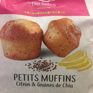 PETITS MUFFINS citron