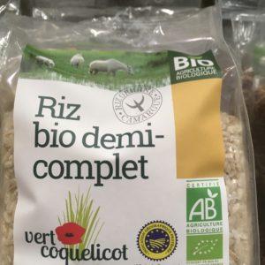 riz demi-complet Camargue