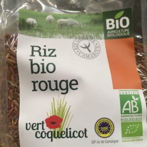 riz rouge Camargue