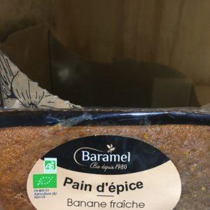 pain épice banane cannelle